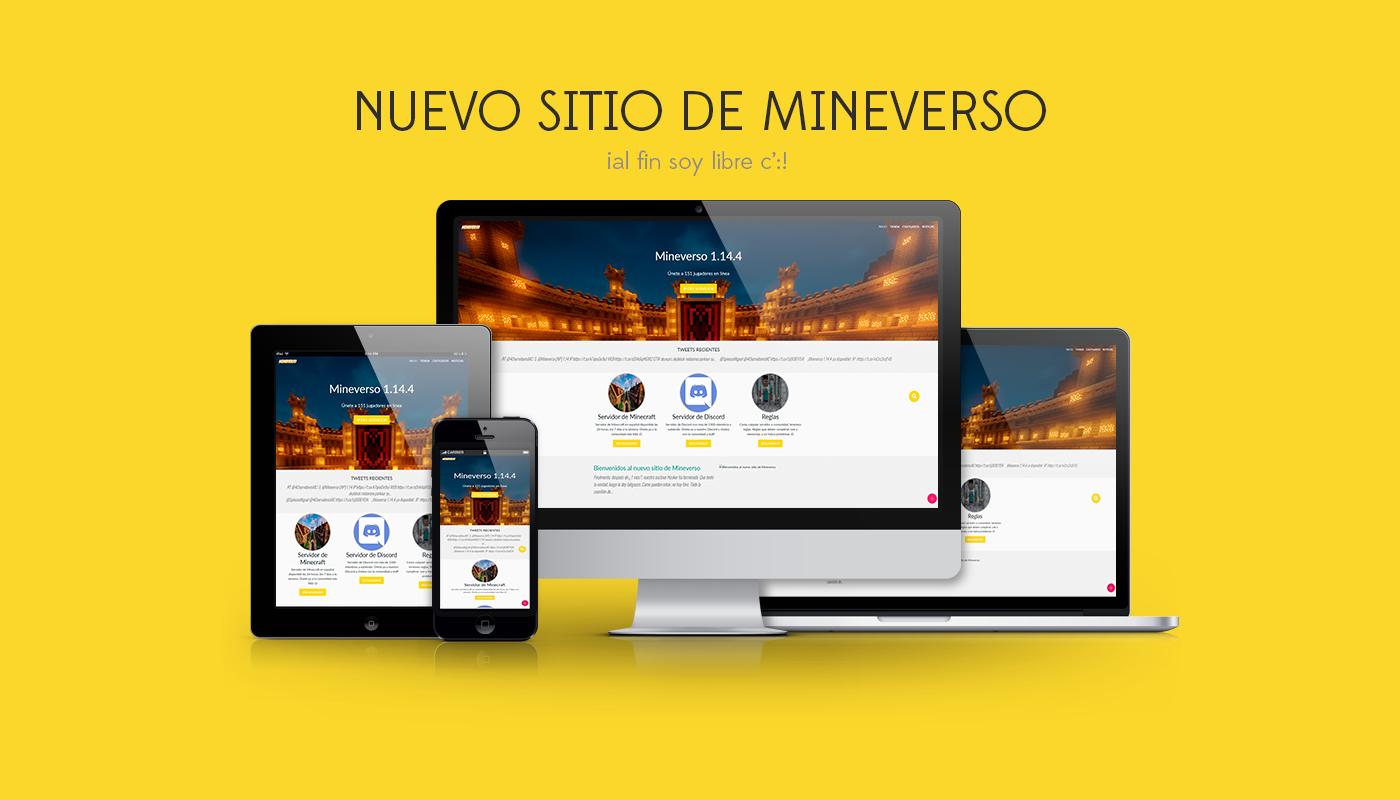 Bienvenidos al nuevo sitio de Mineverso